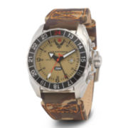 Wrist Armor® C3 Mens US Air Force Camo Canvas Strap Watch