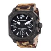 Wrist Armor® C4 WA141 Mens US Marine Corps Camo Strap Watch