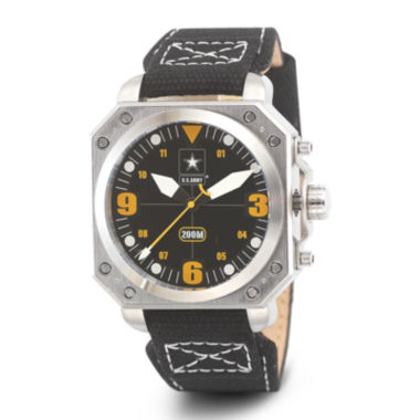 jcpenney.com | Wrist Armor® C4 Mens US Army Canvas Strap Watch