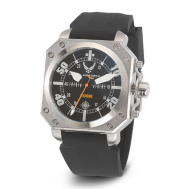 jcpenney.com | Wrist Armor® C4 Mens US Air Force Rubber Strap Watch