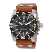 Wrist Armor® WA122 Mens US Marine Corps Tritium Hands Watch