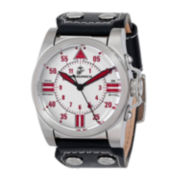 Wrist Armor® WA106 Mens US Marine Corps Stainless Steel Watch