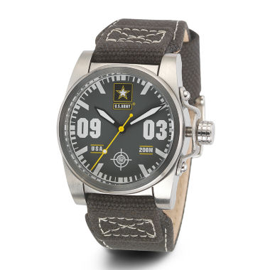 jcpenney.com | Wrist Armor® C1 Mens US Army Olive Canvas Watch
