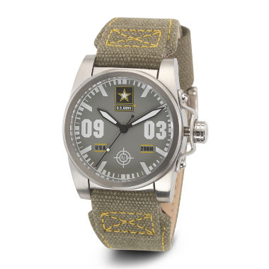 jcpenney.com | Wrist Armor® C1 Mens US Army Gray Canvas Watch