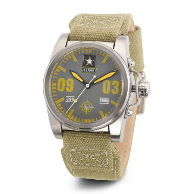 jcpenney.com | Wrist Armor® C1 Mens US Army Green Canvas Watch