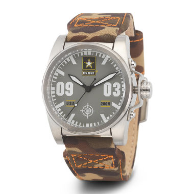 jcpenney.com | Wrist Armor® C1 Mens US Army Camo Canvas Watch