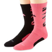 adidas® 2-pk. Team Crew Socks