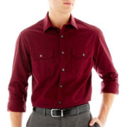 Claiborne® Long-Sleeve Bedford Cord Shirt