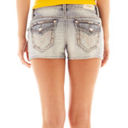 ZCO Light Wash Embroidered Pocket Shorts