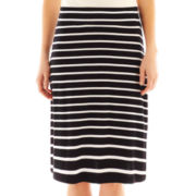 a.n.a® Wide Waistband Knit Skirt - Petite