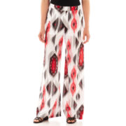 XOXO® Print Wide-Leg Soft Pants