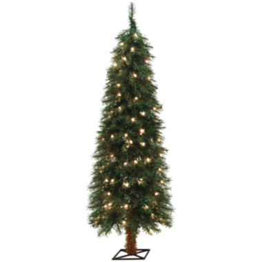 jcpenney.com | 5' Pre-Lit Alpine Clear Lights Christmas Tree