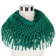 Mixit™ Fringed Loop Scarf