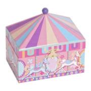 Mele & Co. Edie Girls Carousel Jewelry Box