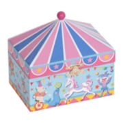 Mele & Co. Ellie Girls Circus Jewelry Box