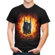 DC Comics® Batman™ Cowl Flamed Tee