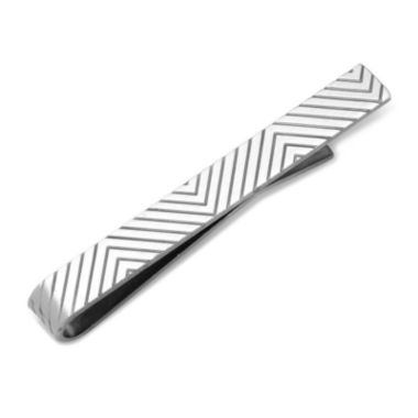 jcpenney.com | Stainless Steel Etched Chevron Tie Bar