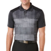 PGA TOUR® Pro Series Block Heather Polo