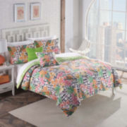 Vue Fiji Tropical Reversible Comforter Set