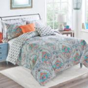 Vue Savannah Medallion Reversible Comforter Set