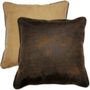 HiEnd Accents Luxury Star Reversible Euro Sham