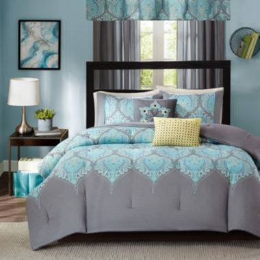 ideology aries comforter set & accessories - jcpenney