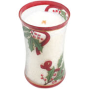 WoodWick® Large Cinnamon Cheer Crackle Candle