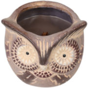 WoodWick® Owl Evening Bonfire Candle