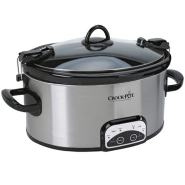 jcpenney.com | Crock-Pot® 6-qt. Cook & Carry™ Programmable Slow Cooker