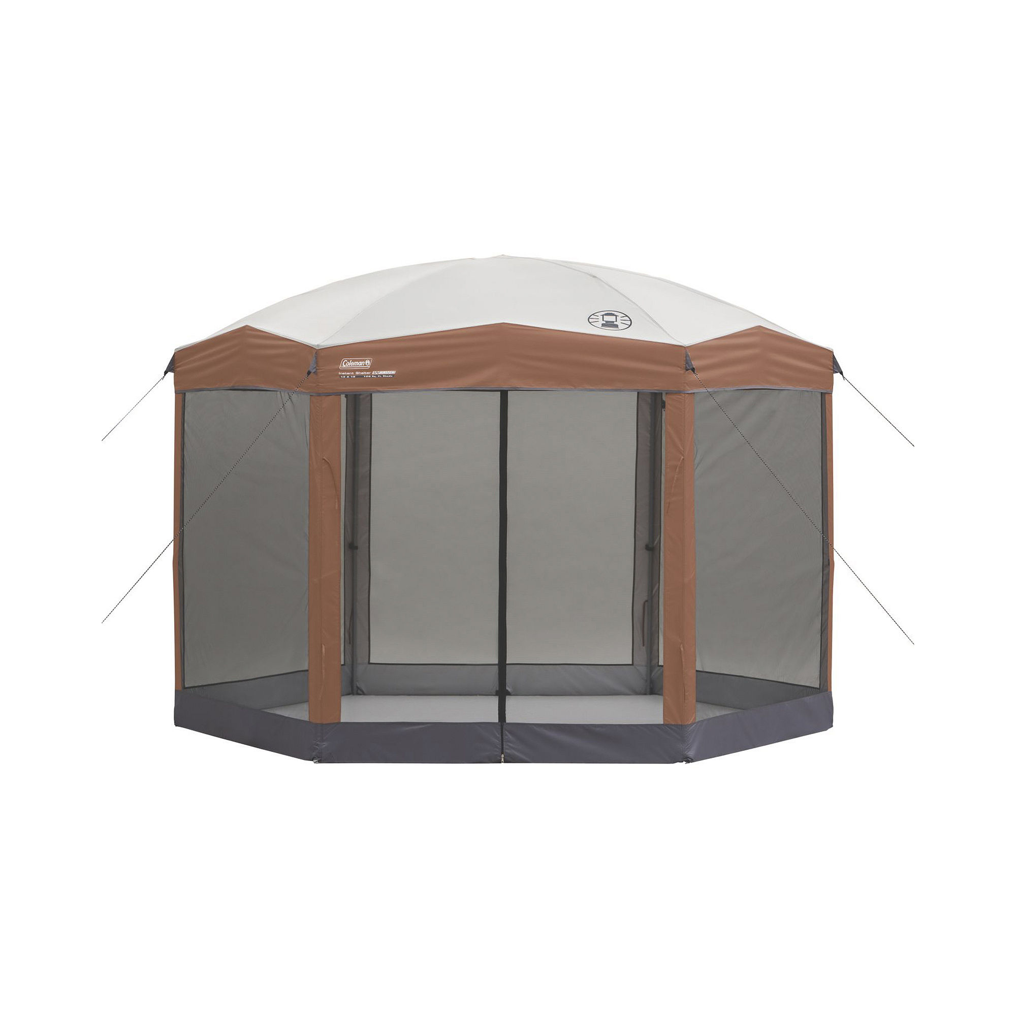 Coleman Hexagonal Instant Screened Canopy