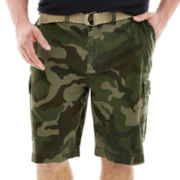 The Foundry Supply Co.™ Belted Cargo Shorts – Big & Tall