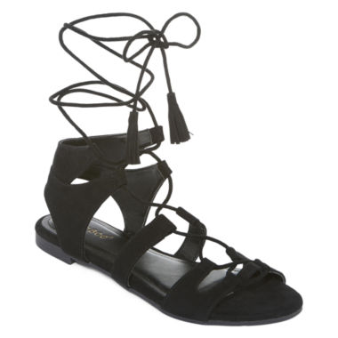 jcpenney.com | Bamboo Sacred Lace-Up Sandals