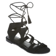 Bamboo Sacred-53V Lace-Up Sandals