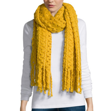 jcpenney.com | Mixit™ Zig Zag Oblong Scarf with Fringe
