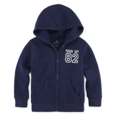 jcpenney.com | Okie Dokie® Solid Fleece Jacket - Toddler Boys 2t-5t