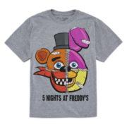 Short-Sleeve Freddy Five Nights Tee - Boys