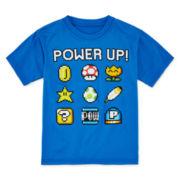 Mario™ Power Up Graphic Tee - Preschool Boys 4-7