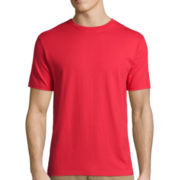 St. John's Bay® Short-Sleeve Slim-Fit Legacy Basic Tee