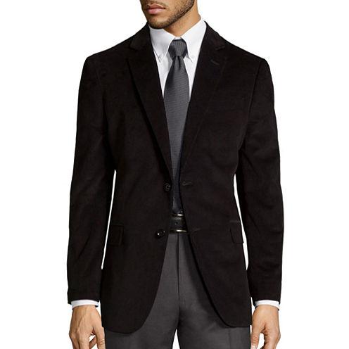 Stafford® Signature Corduroy Slim-Fit Cotton Sportcoat