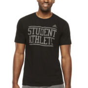 adidas® Short-Sleeve Student Athlete Tee