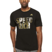 adidas® Short-Sleeve Speed Rich Tee