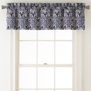 jcpenney.com | Home Expressions™ Montage Rod-Pocket/Back-Tab Lined Valance