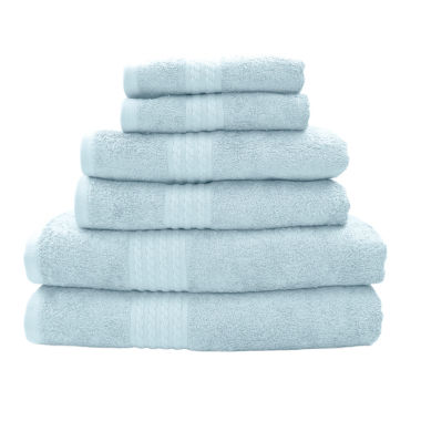 jcpenney.com | Pacific Coast Textiles™ Rayon From Bamboo 6-Pc. Towel Set