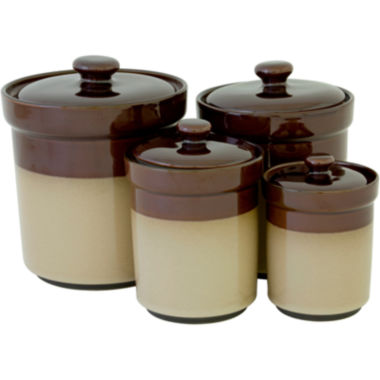 jcpenney.com | Sango Nova 4-pc. Ceramic Canister Set