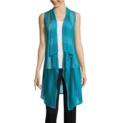 Worthington® Sleeveless Cardigan