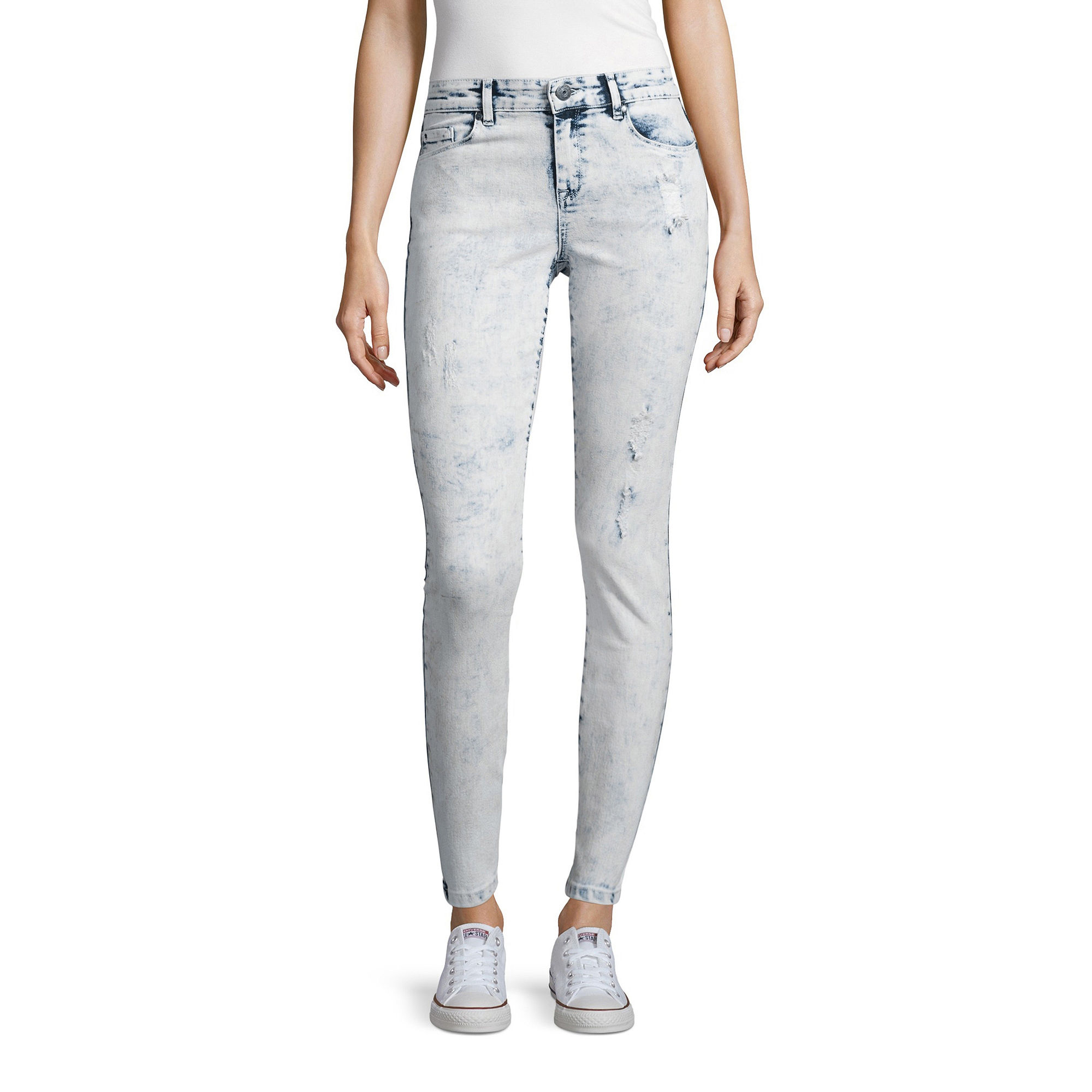 i jeans by Buffalo Bleached Skinny Jeans
