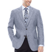 Stafford® Linen-Cotton Sport Coat - Classic Fit