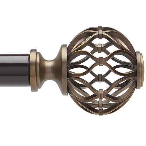 Liz Claiborne® Cage Ball Adjustable Curtain Rod