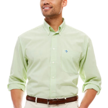 jcpenney.com | Biscayne Bay Long-Sleeve Striped Button-Down Shirt