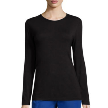 jcpenney.com | Wonderwink® Long-Sleeve Layers Tee - Plus